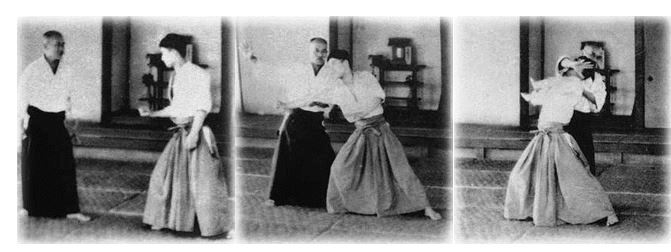 Photo courtesy of the Aikido Journal.