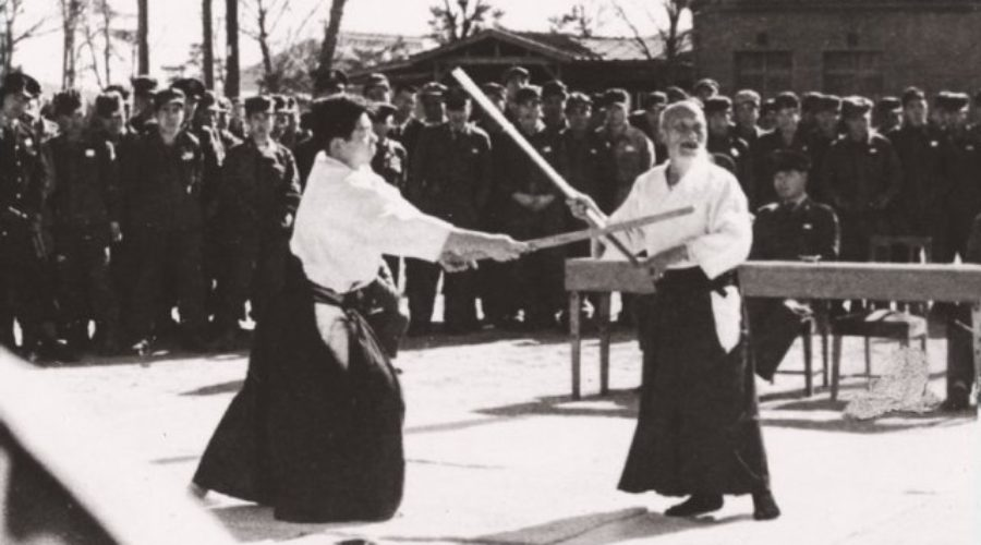 good Aikido demonstrations, Ichi no awase